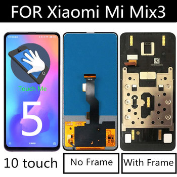 6.39 TFT FOR Xiaomi Mi MIX3 LCD Display+Touch Screen Digitizer Replacement Accessories For xiaomi Mix 3 MI MIX 3 LCD tested 6 44 for xiaomi mi max 3 max3 lcd display touch screen digitizer assembly replacement accessories for mi max3 lcd
