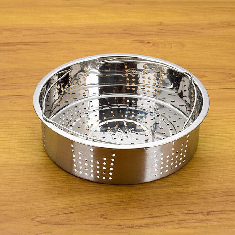 Stainless Steel Steamer Basket Instant Pot Custom Fit For 5/6 QT Or 8 QT InstaPot Pressure Cooker For Steam Egg Meat Veggie