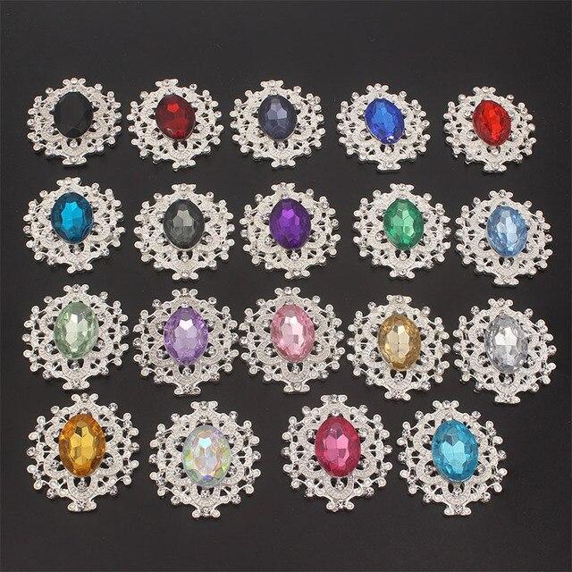 Фото стразы с плоской задней поверхностью и кристаллы ювелирные изделия