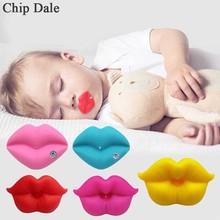 Детская силиконовая соска в форме рта; Милая Новинка; детская соска для губ; детская соска; подарок; безопасная соска