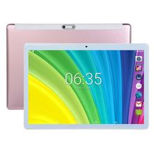 Ready stock Tablet Pc 10.1 inch 2GB+32GB Android 8.0Google Play 4G PhoneCall Tablets WiFi GPS 2.5D Tempered Glass 10 inch Tablet
