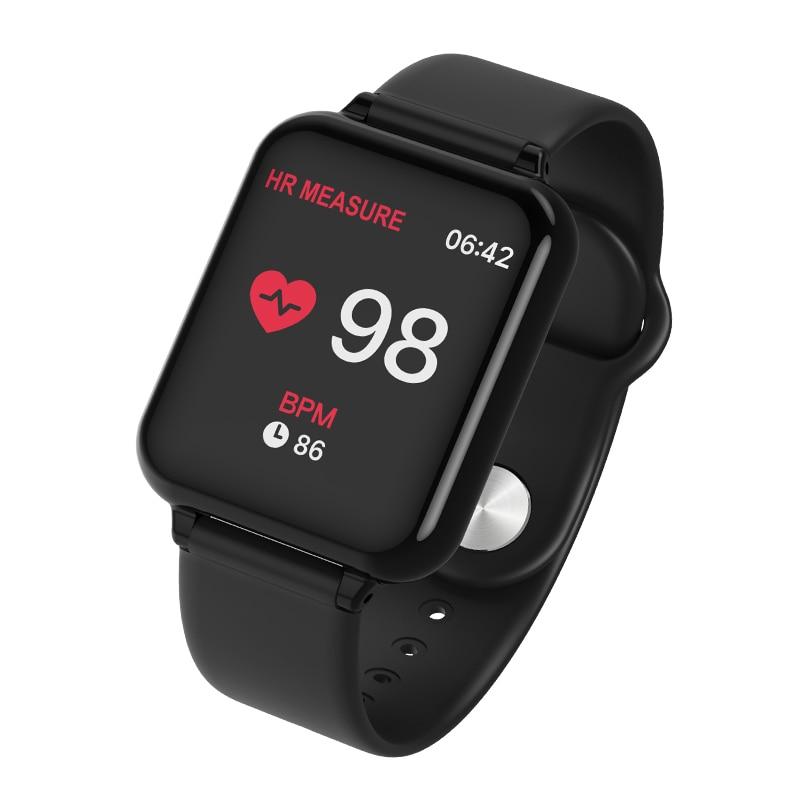 B57 smart watch IP67 smartwatch à prova d' água heart rate monitor múltipla modelo esporte homem mulheres de fitness rastreador wearable