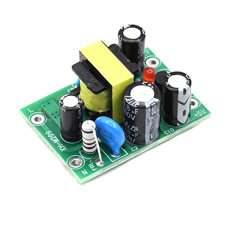 1pc New Hot Mini AC-DC Converter AC 110V 220V To DC 12V 0.2A+5V Module Board Wholesale