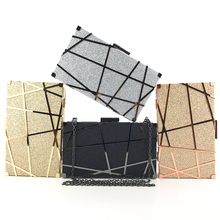 Bling Handbags Clutches Bride-Chain Tassel Small Dinner Women Fashion Luxecho for Day