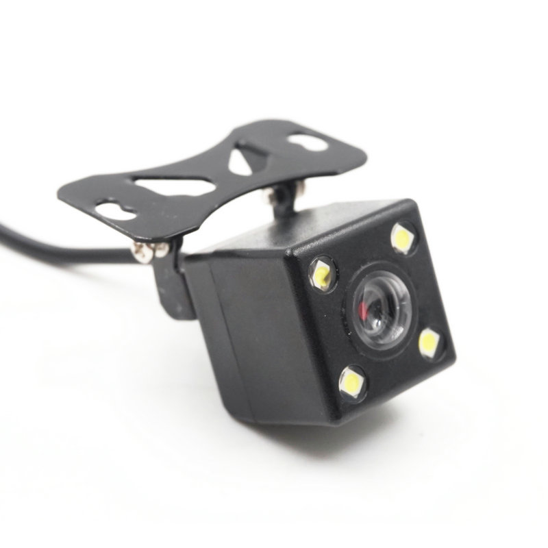 Cross Border Hot Selling 4LED Lights Rearview Camera IP67 Waterproof High-definition Night Vision Car Rear View Camera Wholesale