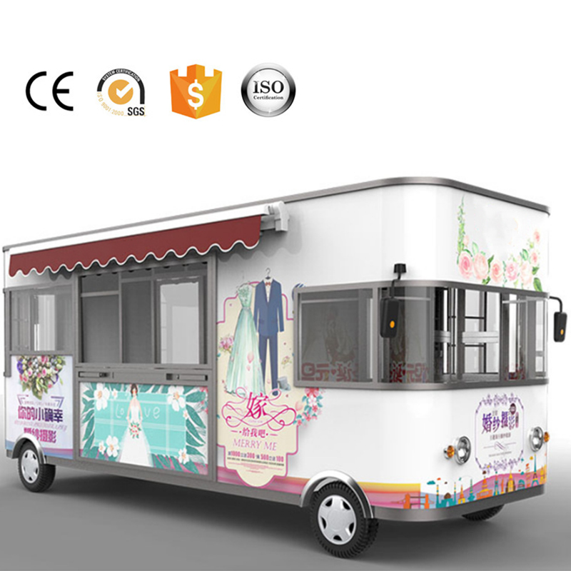 Electric Wedding Photography Truck Customized Mobile Wedding Cart For Sale