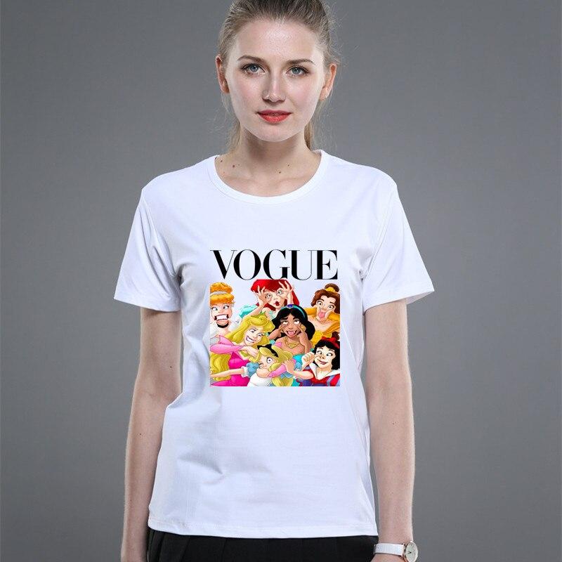 1 предмет, г. Летняя футболка с принтом принцессы в стиле панк модная одежда для мамы и дочки забавная семейная футболка с короткими рукавами