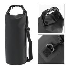LEEPEE Waterproof Outdoor PVC Dry Sack Bag Diving, Swimming, Driving Travel Kits 10L 15L 20L 30L Motorcycle Bag Shoulder Bag