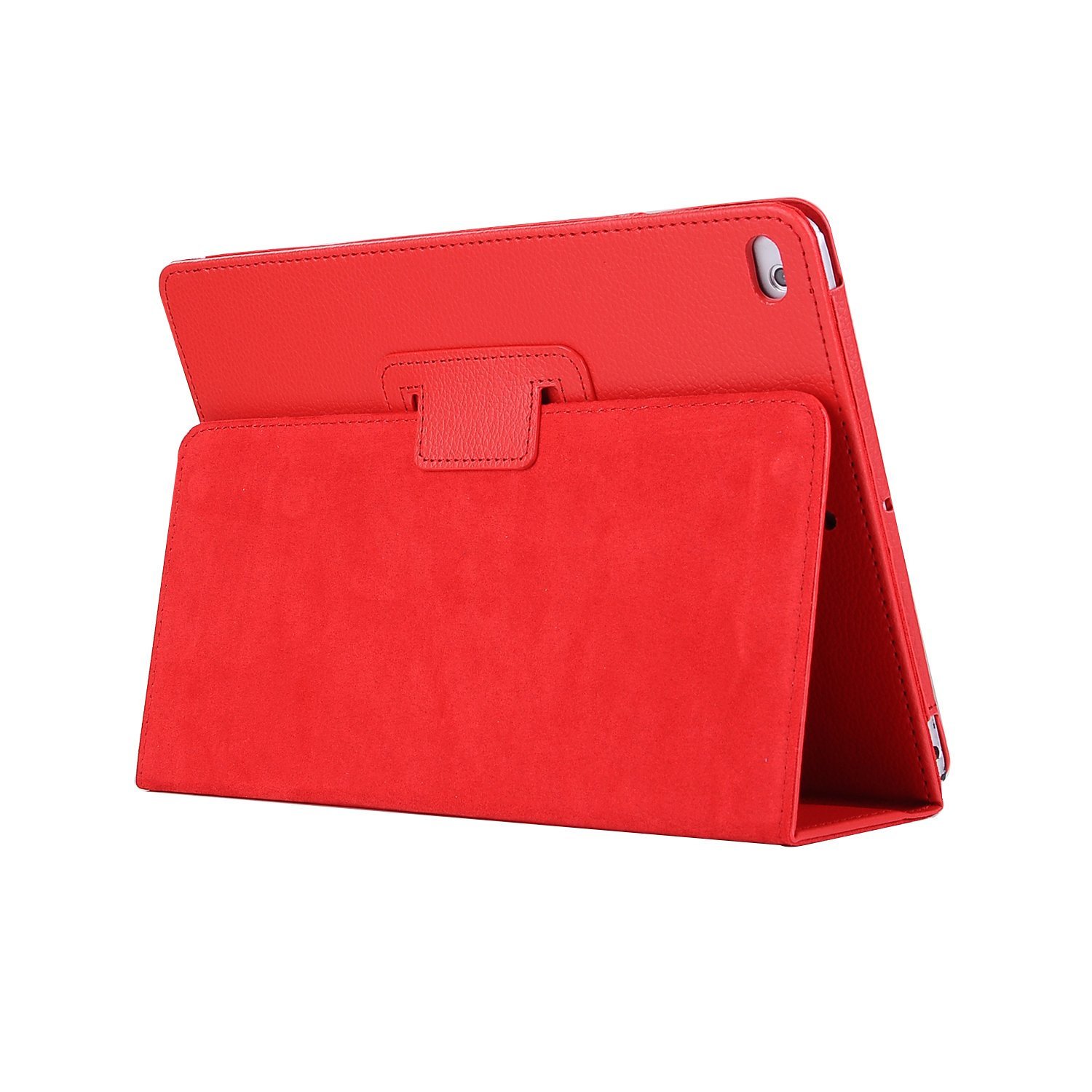 for iPad 10.2 red Red For Apple iPad 10 2 Case 2019 A2197 A2200 A2198 A2232 Foilo Stand PU Leather Cover
