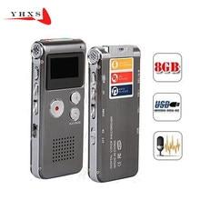 Akumulator N28 16GB dyktafon cyfrowy 650 hr dyktafon odtwarzacz MP3 pamięć usb obsługuje formaty muzyczne MP3 WMA ASF i WAV