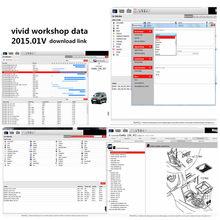 2020 workshopdata vívido quente 2015.01 melhor garagem oficina automotivo banco de dados software de reparo para o modo europeu livre instalar