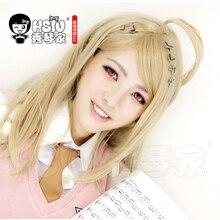 Hsiu kaede akamatsu cosplay peruca nova danganronpa v3 traje jogar perucas trajes de halloween cabelo frete grátis nova alta qualidade