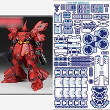 שדרוג פירוט עד לחרוט חלקי סט עבור Bandai MG 1/100 Sazabi ver ka Gundam דגם Replica אבזרים