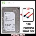 Seagate 1TB Desktop HDD SATA 6 Gb/s 64MB Cache 3,5-Zoll 7200 RPM Interne Bare Stick (ST1000DM003)