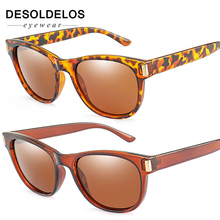 DesolDelos Cat Eye Polarized Sunglasses Women Luxury Brand Design Sun Glasses Men Black Frame Driving Goggles Gafas De Sol UV400
