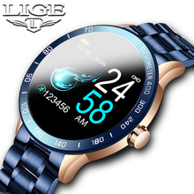 LIGE Luxury Sport Smart Watch Men IP67 Waterproof
