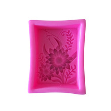 1PC sun flower silicone mold silicone mold cake decorating tools sugar skull cake candy chocolate sorbet baking fondant process diy 3d beatiulty flower silicone fondant mold sugar craft cake decorating embossing mold bakery baking tools
