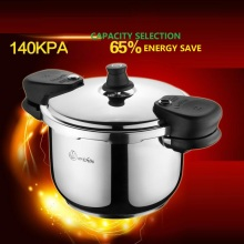 Cooking Pressure Cooker 3 9L SS304 Stainless Steel Pressure Cooker Explosion proof small large Capacity 18cm 26cm Gas/Induction
