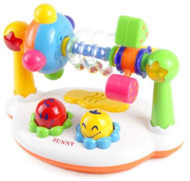 Yang Light Infants Early Education Toy Music Lights Desktop Music Fitness Rack Ying Er Bao Rotary Table