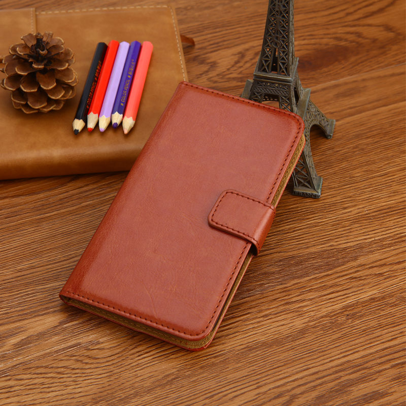 Luxury Wallet Case For Ginzzu S5230 S5220 S5021 S5002 S5001 S5120 PU Leather Retro Flip Cover Magnetic Fashion Cases Strap(China)