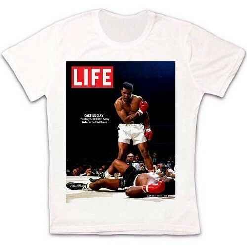 Muhammad Ali Sudadera//Jersey//Jersey Boxeo Vintage Retro Arcilla Entrenamiento