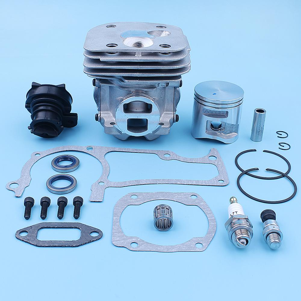 Tools : 50mm Cylinder Piston Intake Gaskets Kit For Husqvarna 365 X-Torq 372XP X-Torq 372 XP Chainsaw New Style Replacement Spare Parts
