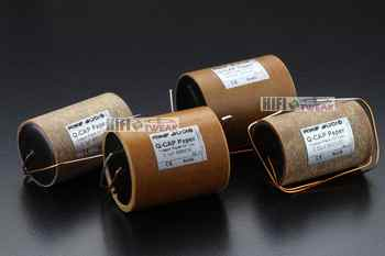 2pcs/lot German Rike Audio Q-Cap series copper foil oil-immersed coupling frequency-dividing Hi-End film capacitor free shipping