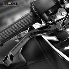 LOGO FAZER For YAMAHA FZ8 2011-2015 FZ1 Fazer 2006-2015 FZ6 Fazer 2004-2010 Motorcycle Adjustable Brake Clutch Levers 1 pair