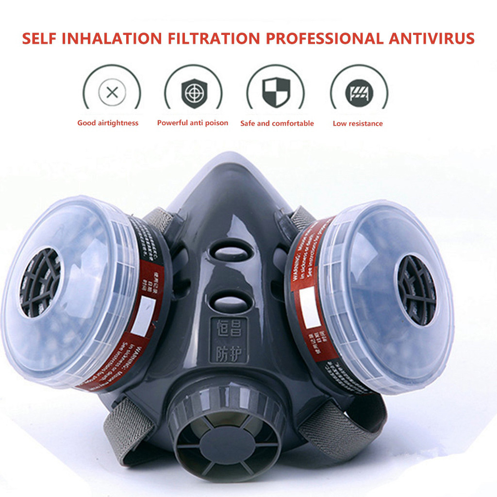 Lightweight Respirator Painting Mouth MaskLuxury Design Face Covering Scarf Reusable Face Respirator Wide Field Full Face maske