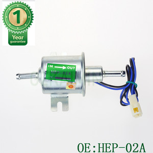 Image 4 - 12V Electric Fuel Pump Low Pressure Bolt Fixing Wire Diesel Petrol HEP 02A HEP02A fuel pump for carburetor, motorcycle , ATV
