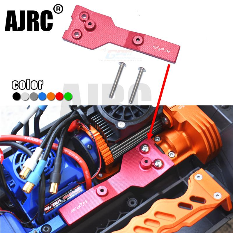 TRAXXAS 1/10 MAXX MONSTER TRUCK-89076-4 Aluminum Alloy Rear Ridge Protection Cover Chassis Bracket