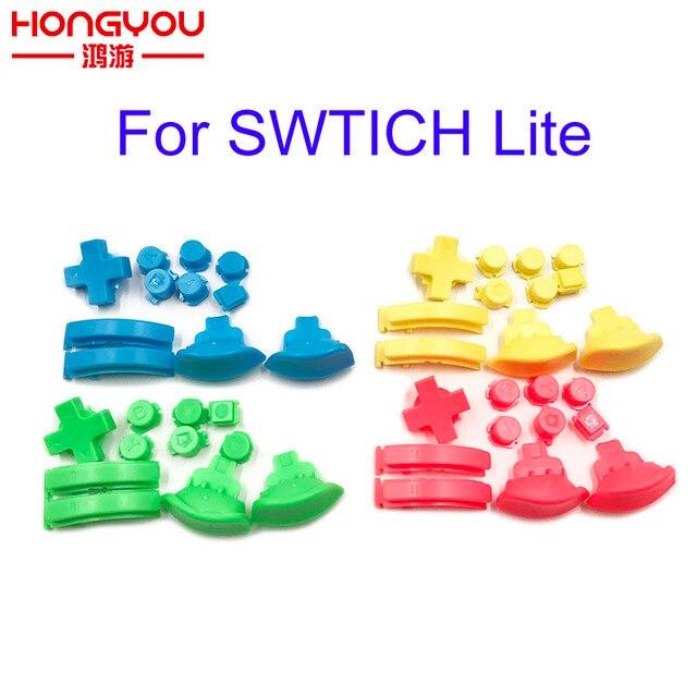 Dành Cho Máy Nintendo Switch Lite L R ZL ZR Abxy Nút Thay Thế Cho NS Lite Tay Cầm Chơi Game