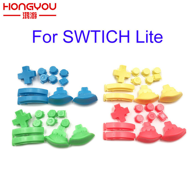 For Nintendo Switch Lite L R ZL ZR ABXY button replacement for NS Lite game console