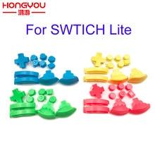 Para Nintendo Switch Lite L R ZL ZR botones ABXY reemplazo para NS Lite game console