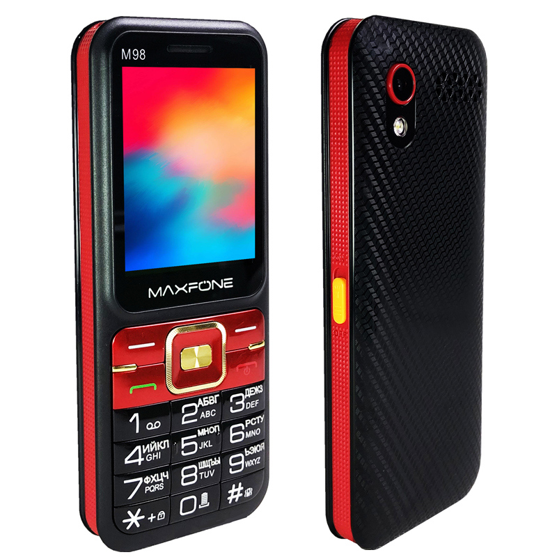 2.4 Inch Cell Phones Dual SIM Card 2G GSM Elderly Mobile Phone Long Standby Senior TelePhone FM MP3 Bluetooth Russian Language