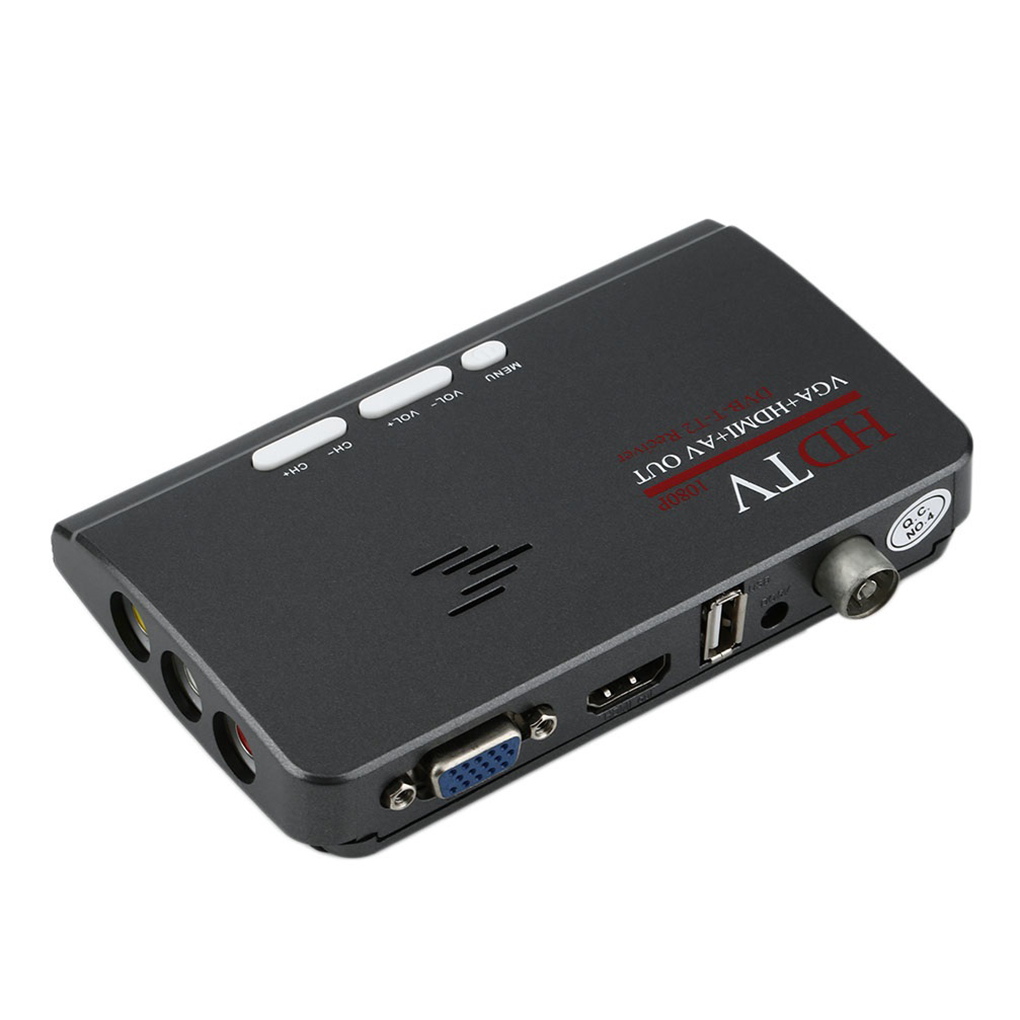 DVB-T DVB-T2 récepteur de télévision DVB T/T2 TV boîte VGA AV CVBS 1080P HDMI numérique HD récepteur Satellite