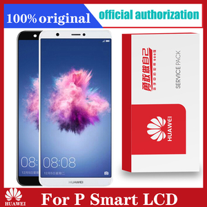 Image 1 - Original 5.65 Replacement LCD with Frame for Huawei P Smart Touch Screen Display P Smart FIG LX1 LX3