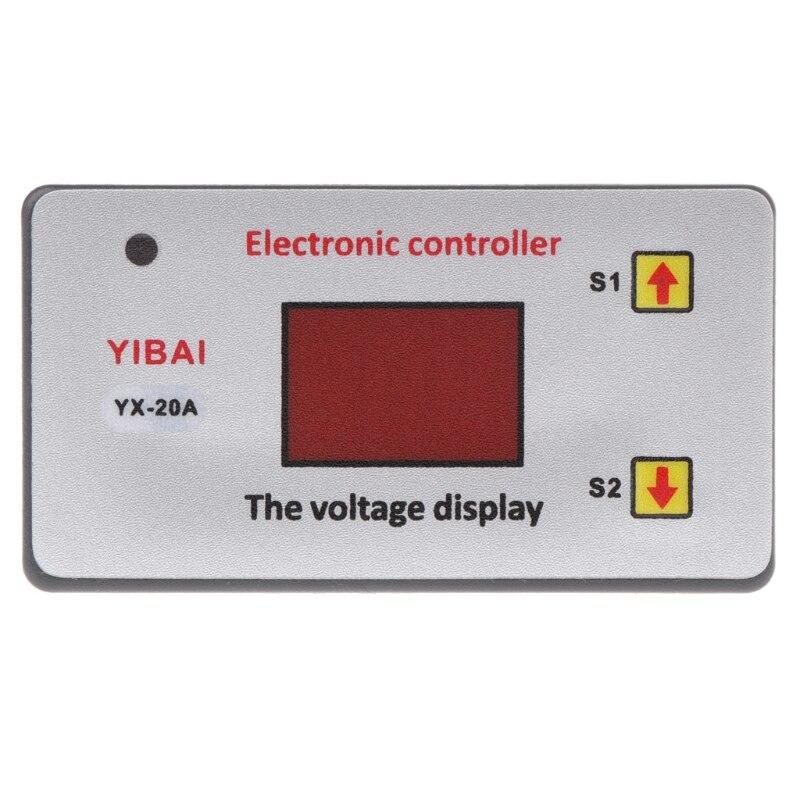 OOTDTY 12V низкое напряжение аккумуляторной батареи отрезать выключатель защиты регулятор напряжения постоянного тока A5YD