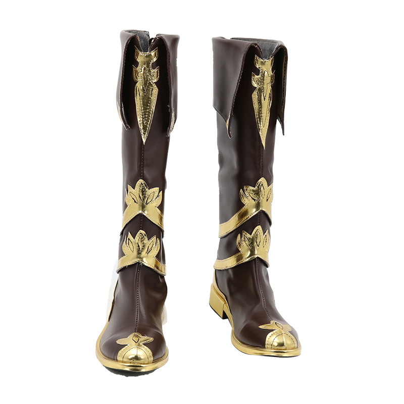 New!!!Game Food Language Lotus Blood Cosplay Shoes For male H