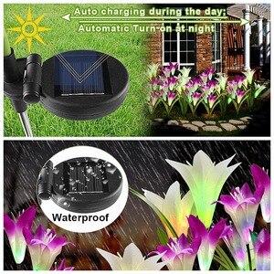 Image 4 - Садовый светильник на солнечной энергии, водонепроницаемый, 2 шт.