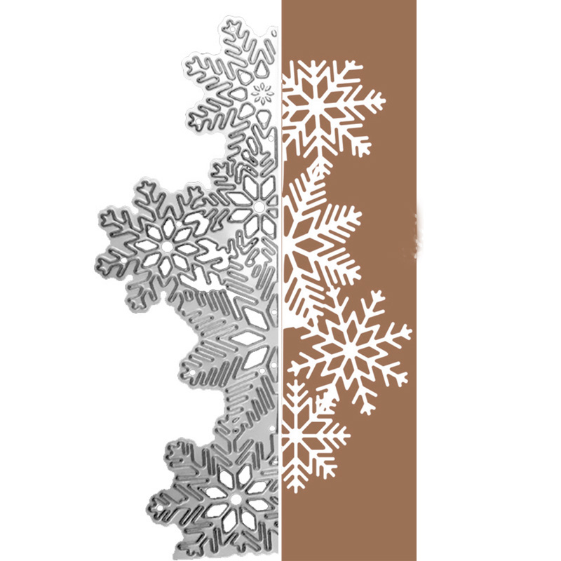 Metal Cutting Dies Stencil Embossing Die Scrapbooking Card Craft-Snowflake
