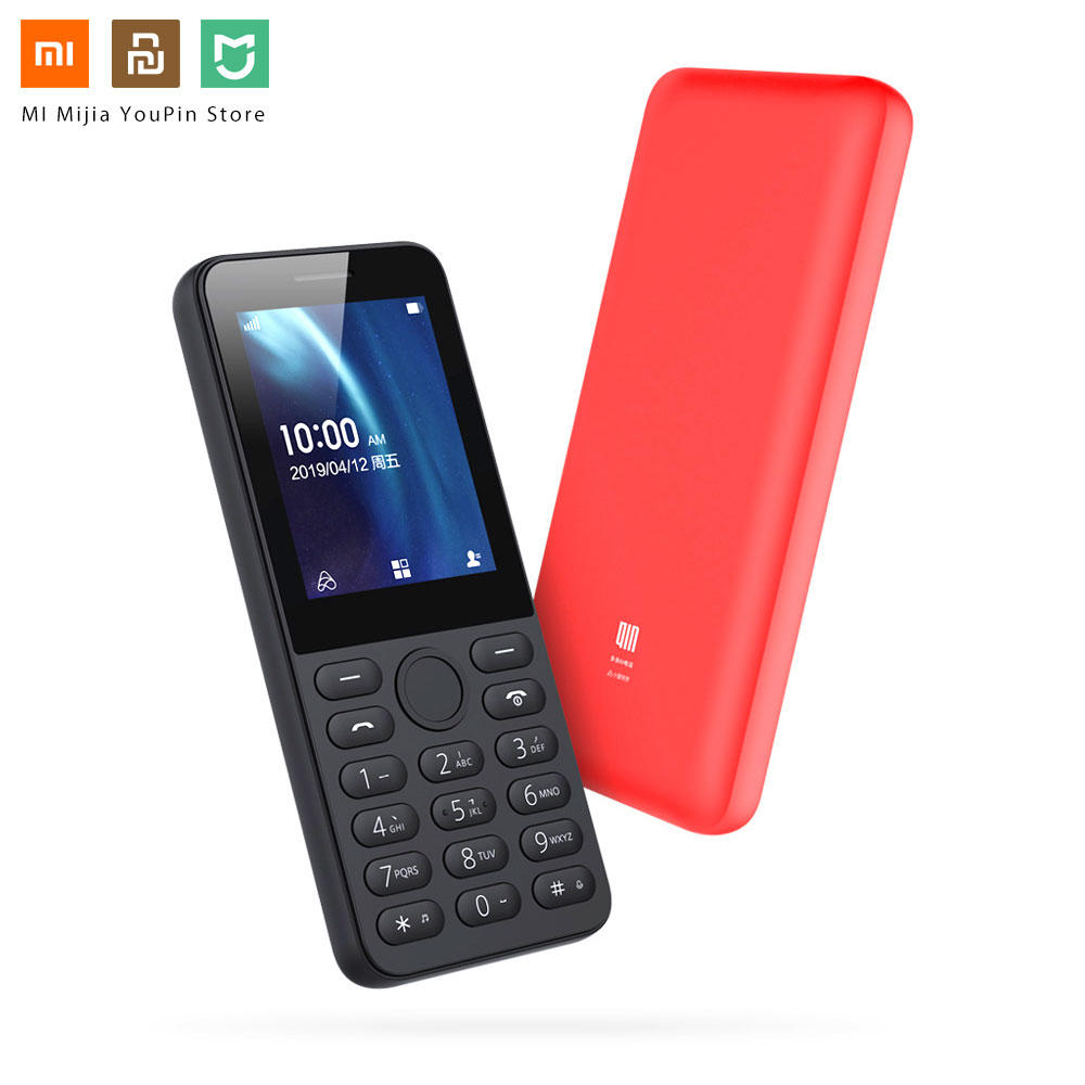 Xiaomi QIN QF9 4G Network Wifi 1820mAH BT 4.2 Infrared Remote Control Dual SIM Card Feature Phone