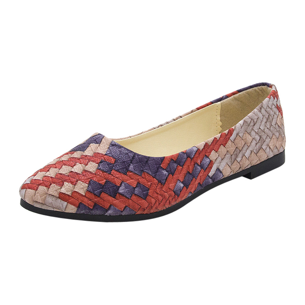 2020 Newest Women Suede Flats Fashion High Quality Basic Mixed Colors Pointy Toe Ballerina Female Pretty Flat Slip On Shoes