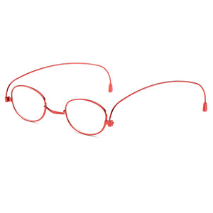 New anti-blue reading glasses for men and women, ultra-thin bookmark, paper-type rotating convenient reading glasses for elderly