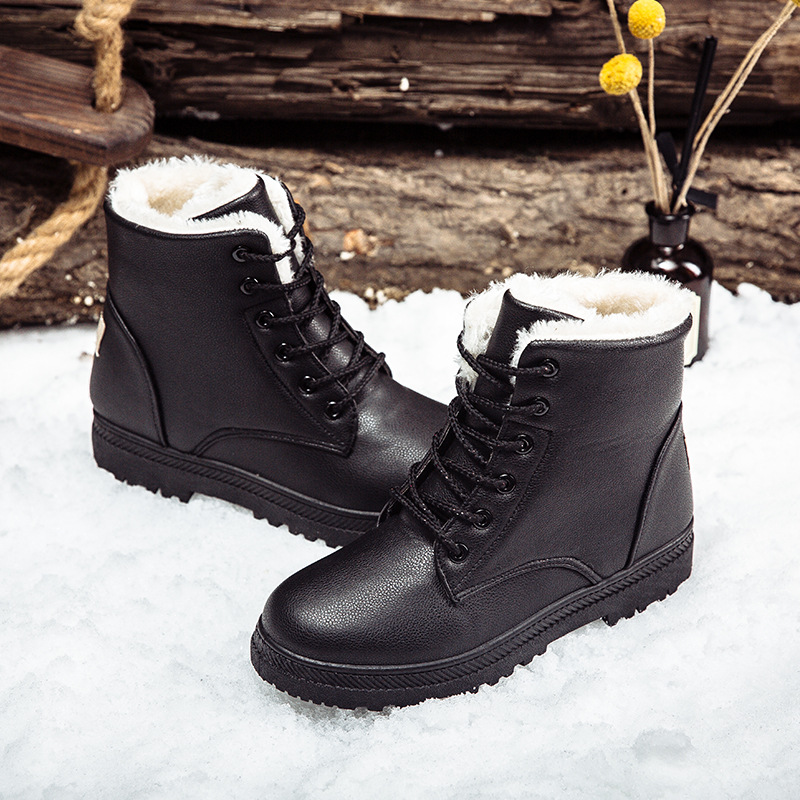 Best selling winter snow boots women's warm boots and velvet women waterproof large size shoes factory direct sales image