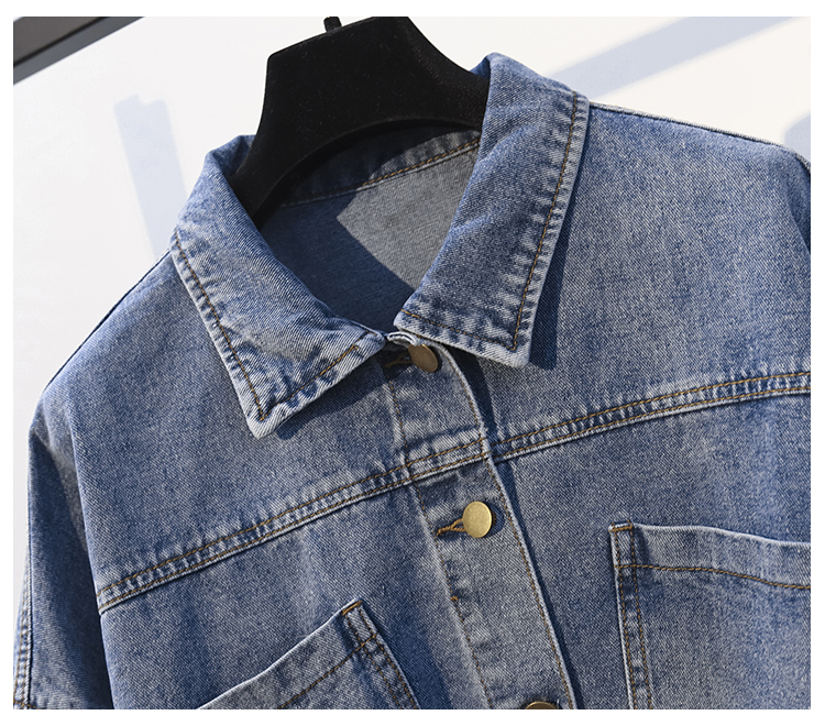 2019 Women Basic Coat Denim Jacket Women Winter Denim Jacket For Women Jeans Jacket Women Denim Coat loose fit casual style in Jackets from Women 39 s Clothing
