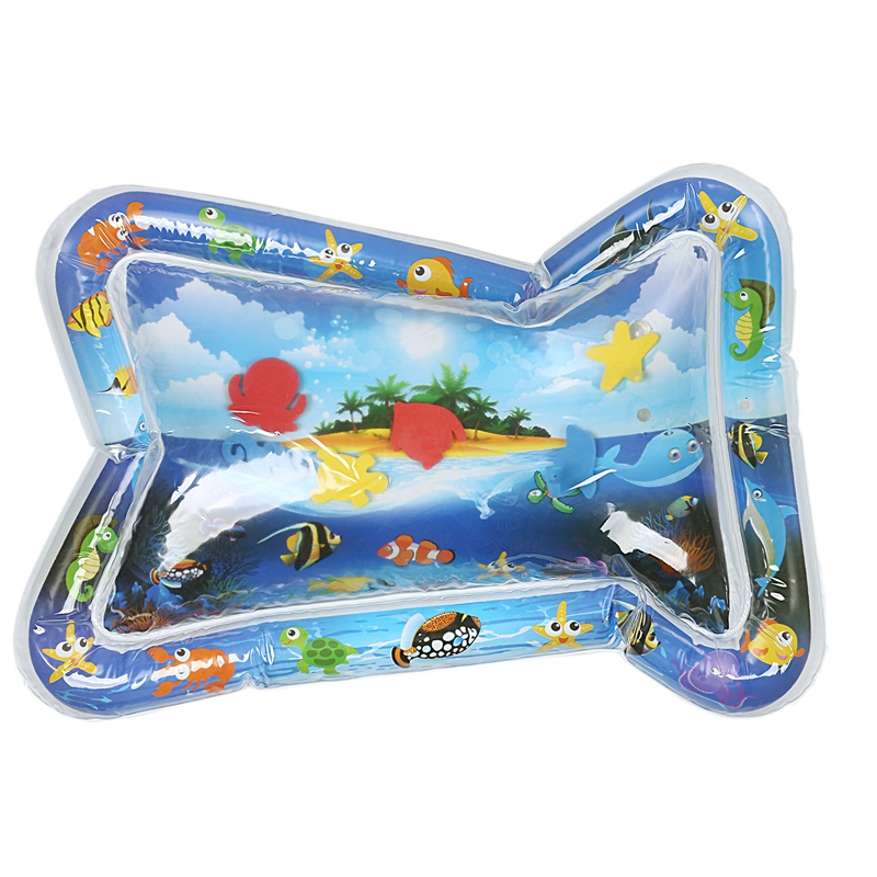 Creative Inflatable Water Mat Baby Patted Pad Baby Inflatable Water Cushion Infant Play Mat Toddler Outdoor Spray Pad Funny Pat