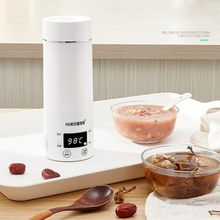 Портативный Miini Электрический чайник воды Термальность отопительный котел путешествия Нержавеющая сталь Чай горшок Кофе с молоком кипения 110V 220V