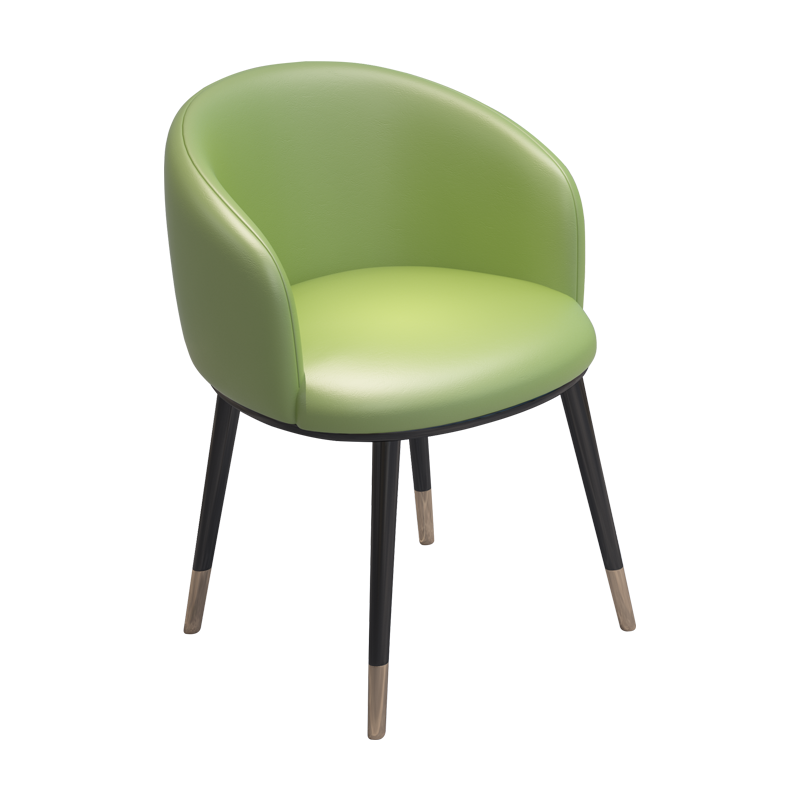 Light Luxury Style Chair Modern Minimalist Desk Chair Creative Net Red Computer Makeup Stool Back Home Adult Dining Chair