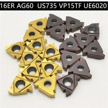 10PCS MMT 11ER AG60 VP15TF Carbide Threading Inserts MMT11ER AG60